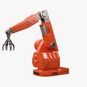 Bras robotique futuriste 3d model
