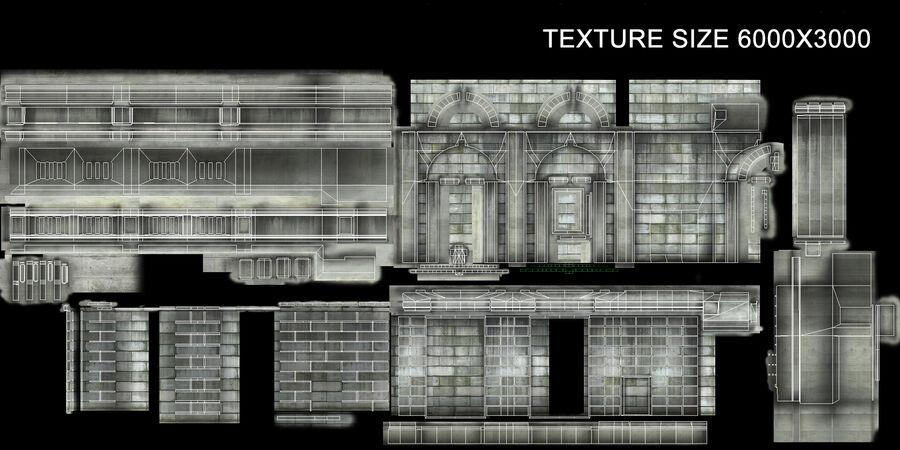 都市の建物 royalty-free 3d model - Preview no. 18