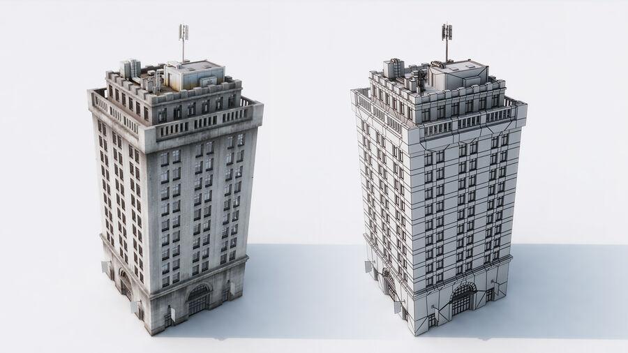 都市の建物 royalty-free 3d model - Preview no. 13