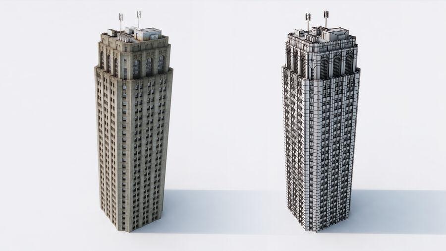 都市の建物 royalty-free 3d model - Preview no. 11