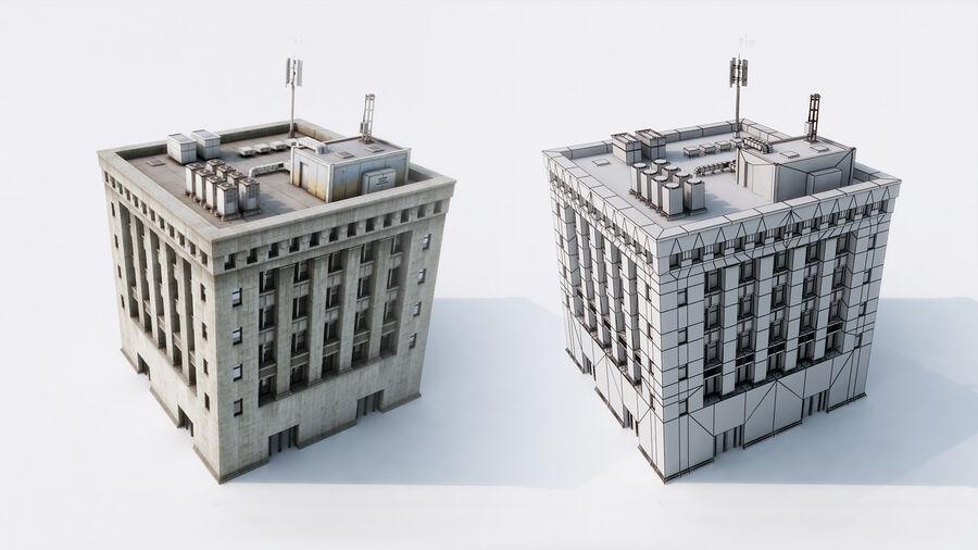 都市の建物 royalty-free 3d model - Preview no. 16