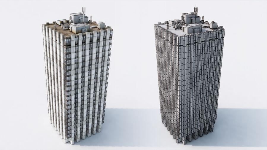 都市の建物 royalty-free 3d model - Preview no. 12