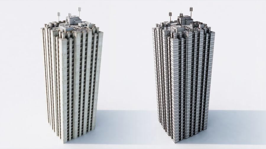 都市の建物 royalty-free 3d model - Preview no. 3