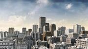 bâtiments de la ville 3d model