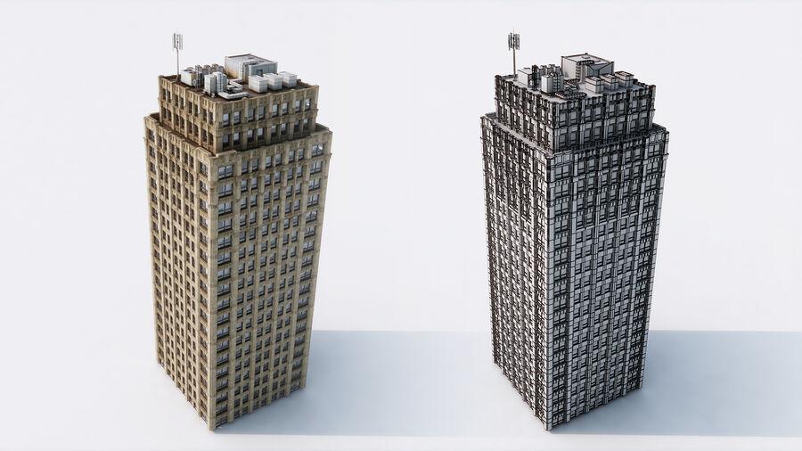 都市の建物 royalty-free 3d model - Preview no. 5