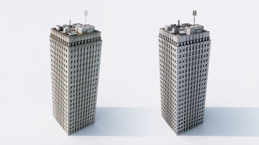 都市の建物 royalty-free 3d model - Preview no. 7