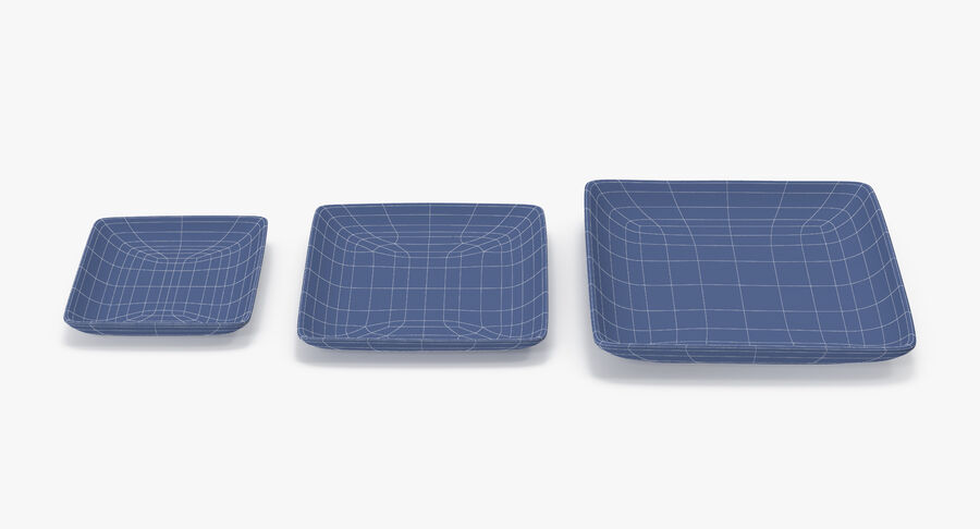 Serving Plates royalty-free 3d model - Preview no. 109