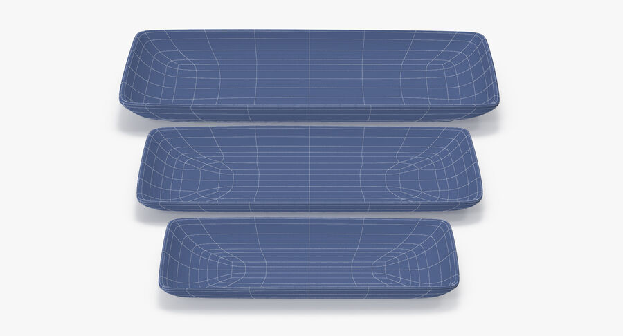 Serving Plates royalty-free 3d model - Preview no. 107