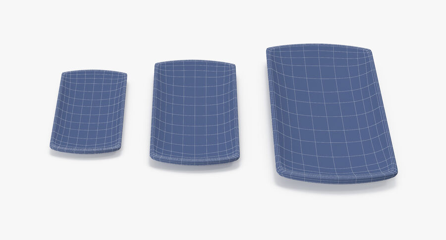 Serving Plates royalty-free 3d model - Preview no. 154