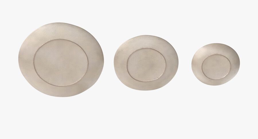 Serving Plates royalty-free 3d model - Preview no. 81