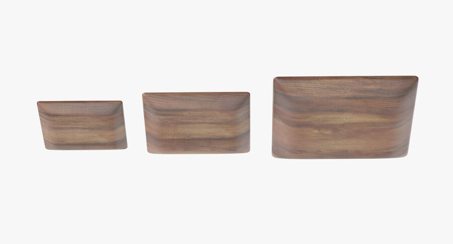 Serving Plates royalty-free 3d model - Preview no. 88