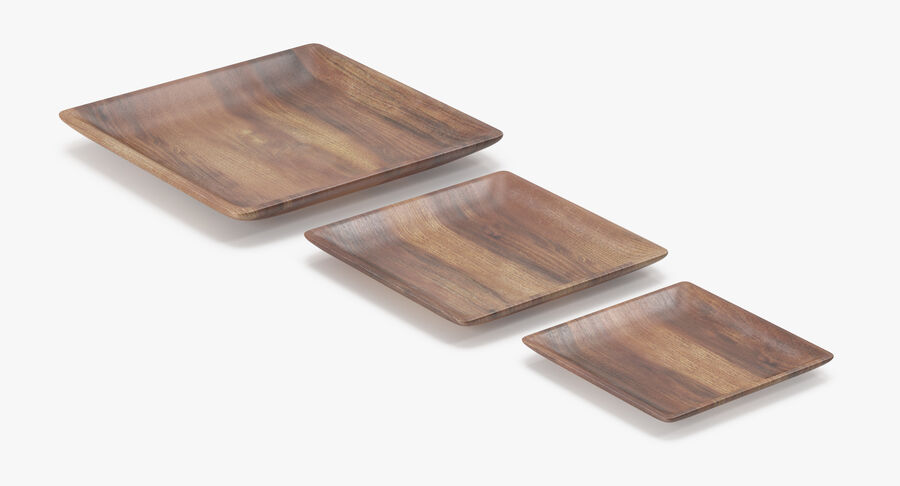 Serving Plates royalty-free 3d model - Preview no. 83