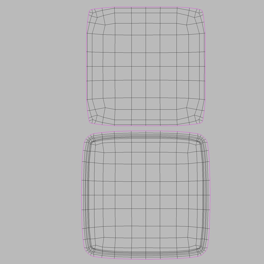Serving Plates royalty-free 3d model - Preview no. 179