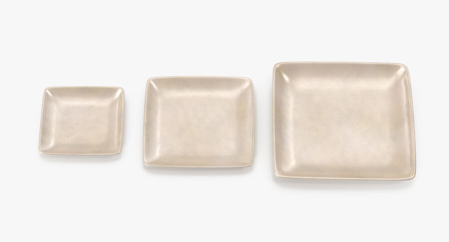 Serving Plates royalty-free 3d model - Preview no. 53