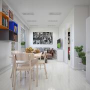 Wohnung Interieur 3d model