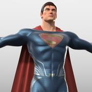 Superman (Dawn of Justice) kostuum 3d model