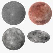 Dwarf Planets 3d model