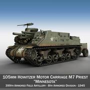 M7 Priest - Minnesota 3d model