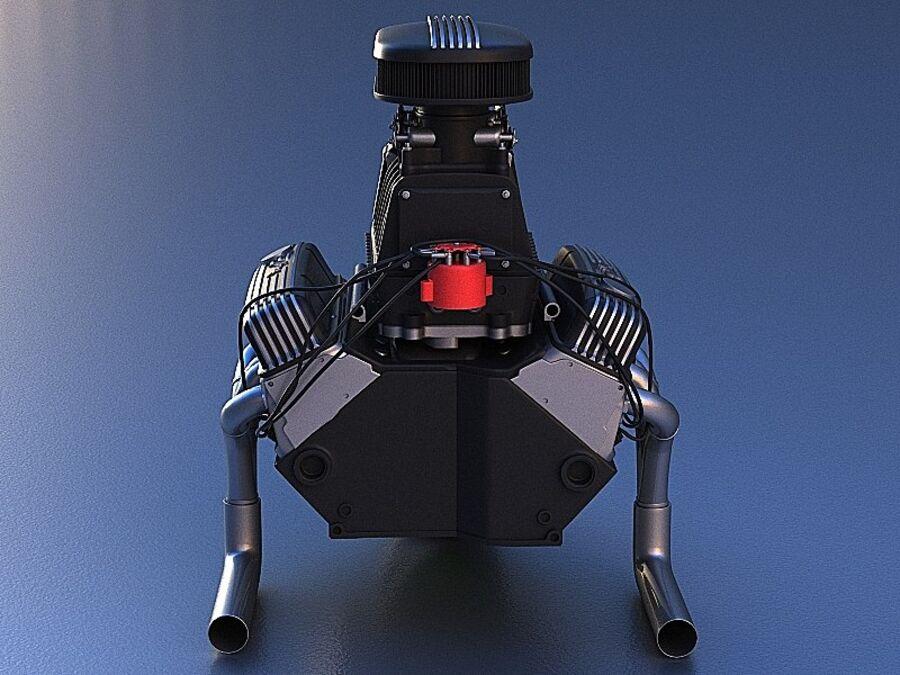 Edelbrock电动增压器 royalty-free 3d model - Preview no. 2