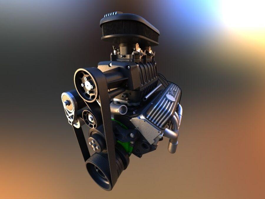 Edelbrock电动增压器 royalty-free 3d model - Preview no. 8