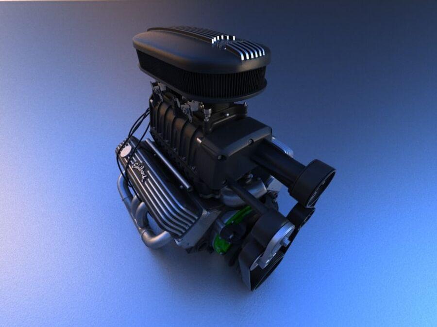 Edelbrock电动增压器 royalty-free 3d model - Preview no. 7