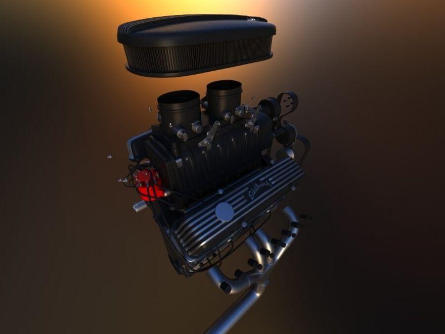 Edelbrock电动增压器 royalty-free 3d model - Preview no. 4