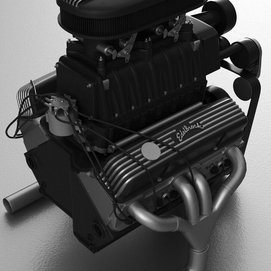 Edelbrock电动增压器 royalty-free 3d model - Preview no. 9