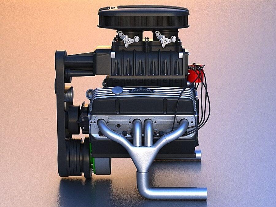 Edelbrock电动增压器 royalty-free 3d model - Preview no. 1