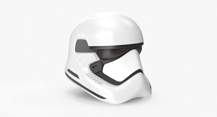 Collection de casques Star Wars royalty-free 3d model - Preview no. 41