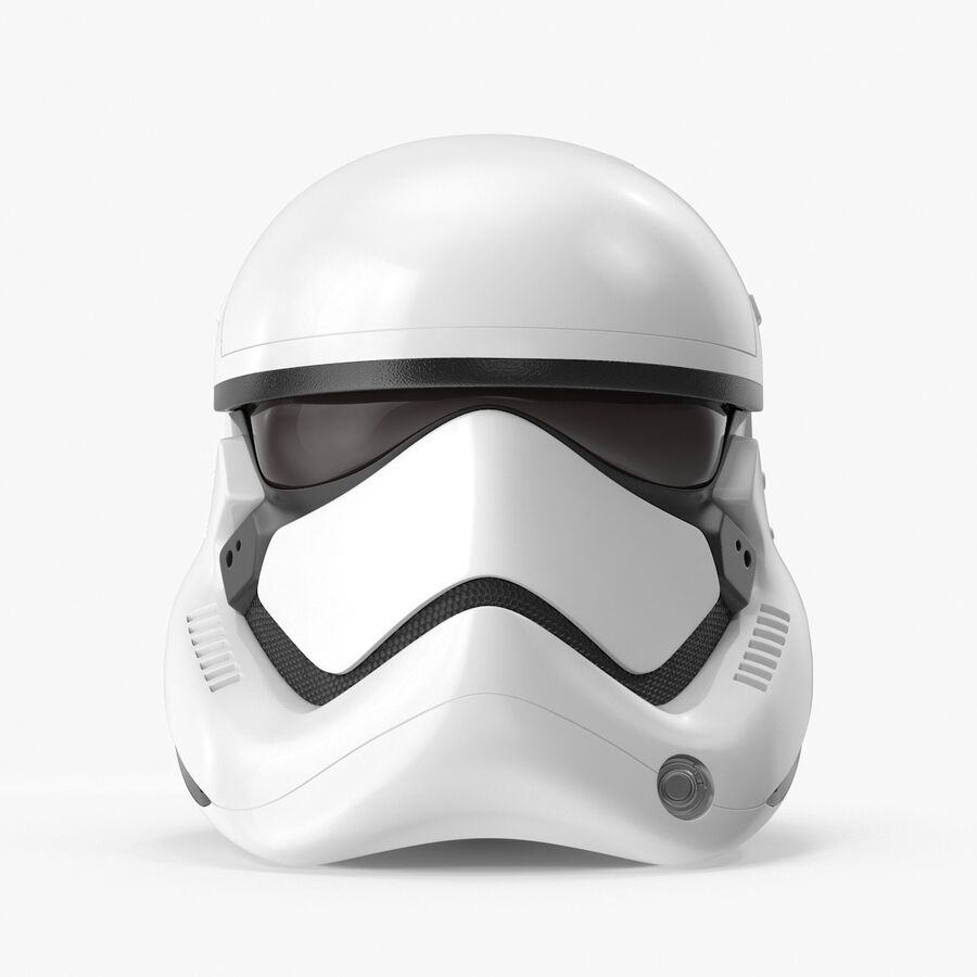 Collection de casques Star Wars royalty-free 3d model - Preview no. 38