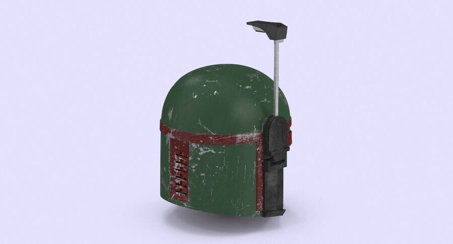 Collection de casques Star Wars royalty-free 3d model - Preview no. 16