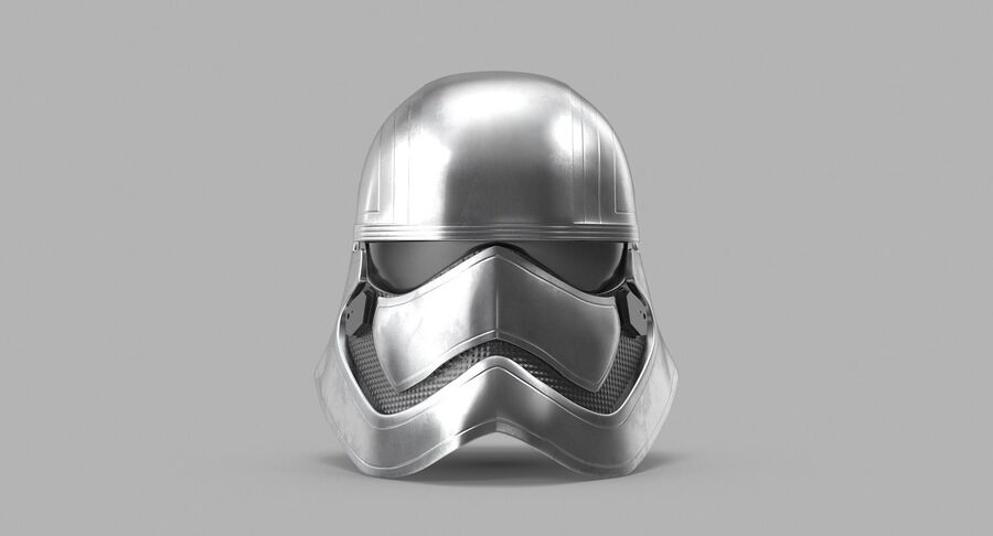 Collection de casques Star Wars royalty-free 3d model - Preview no. 28