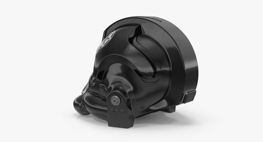 Collection de casques Star Wars royalty-free 3d model - Preview no. 36