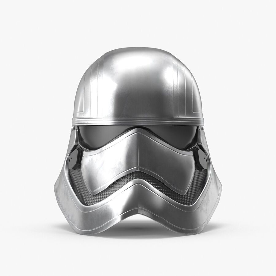 Collection de casques Star Wars royalty-free 3d model - Preview no. 26