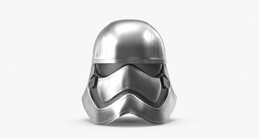 Collection de casques Star Wars royalty-free 3d model - Preview no. 27