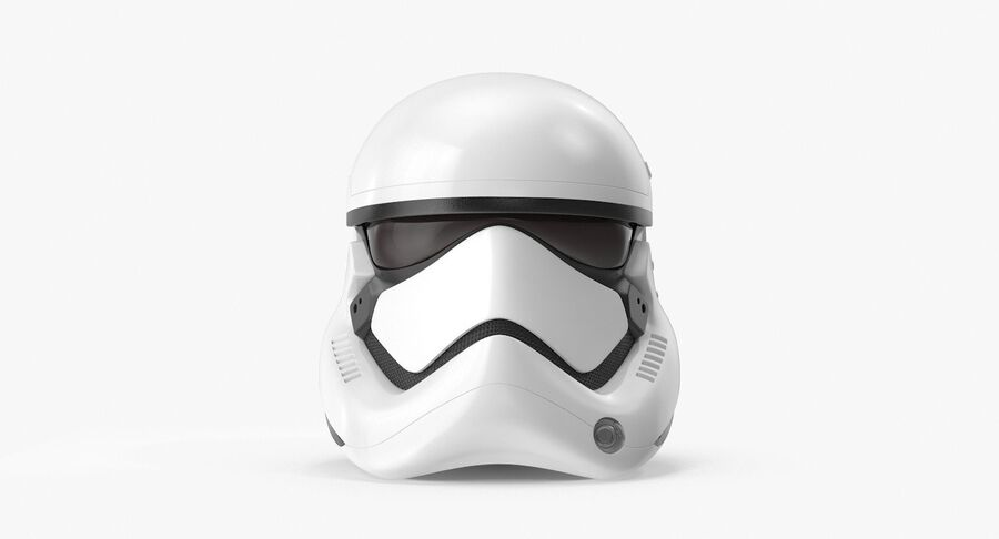 Collection de casques Star Wars royalty-free 3d model - Preview no. 39