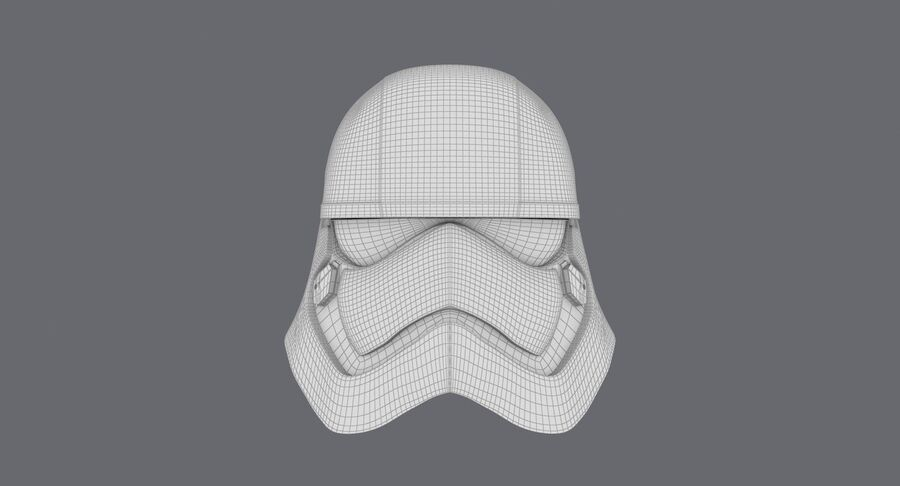 Collection de casques Star Wars royalty-free 3d model - Preview no. 31