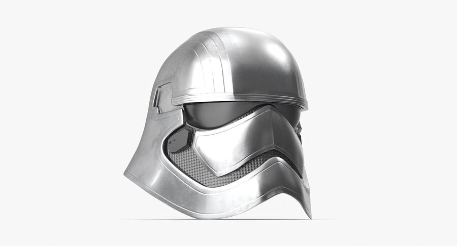 Collection de casques Star Wars royalty-free 3d model - Preview no. 29