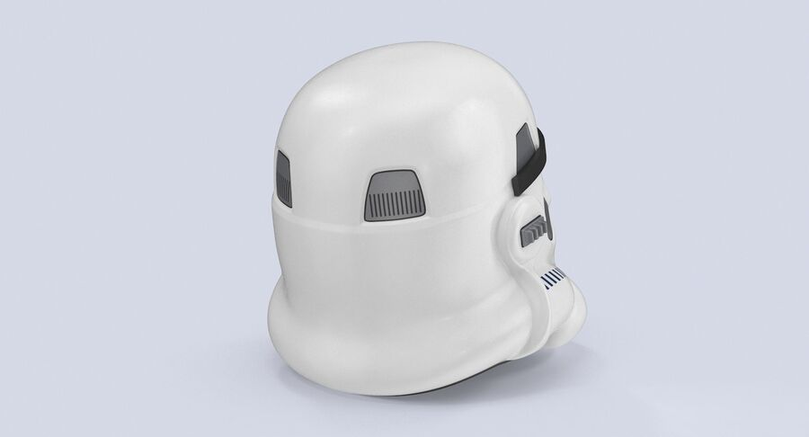 Collection de casques Star Wars royalty-free 3d model - Preview no. 5