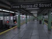 Станция метро NYC 3d model