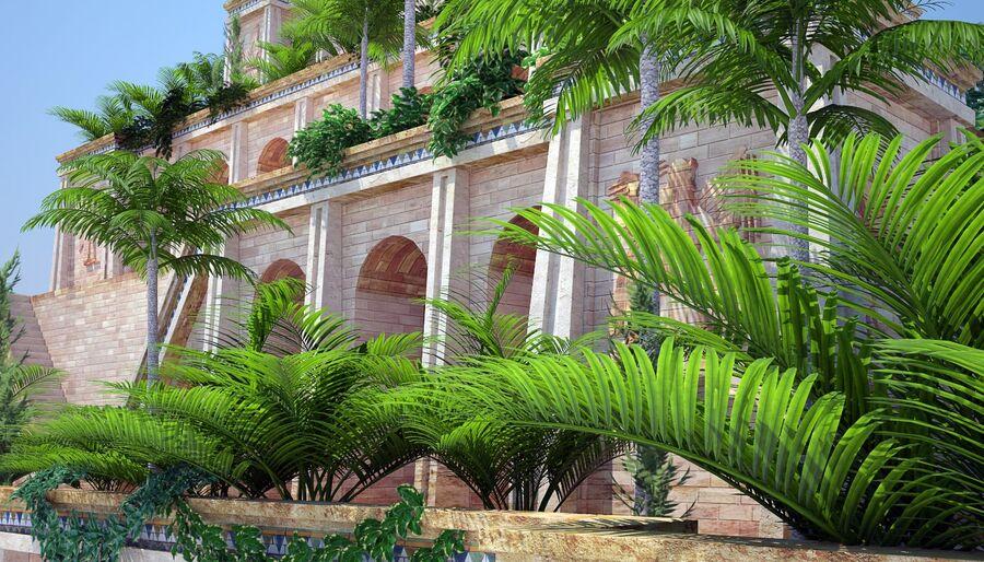 Hanging Gardens Of Babylon 3d Model 199 Max Obj Fbx Free3d
