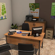 Office Room Pack 3 3d model