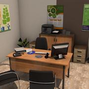 オフィスルームパック3 3d model