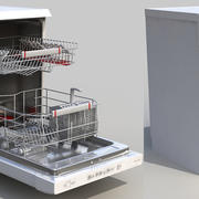 AEG Dishwasher 3d model