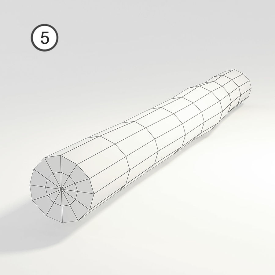 logs royalty-free 3d model - Preview no. 16