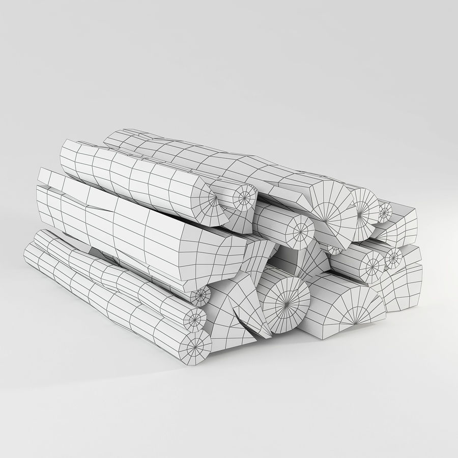 logs royalty-free 3d model - Preview no. 4