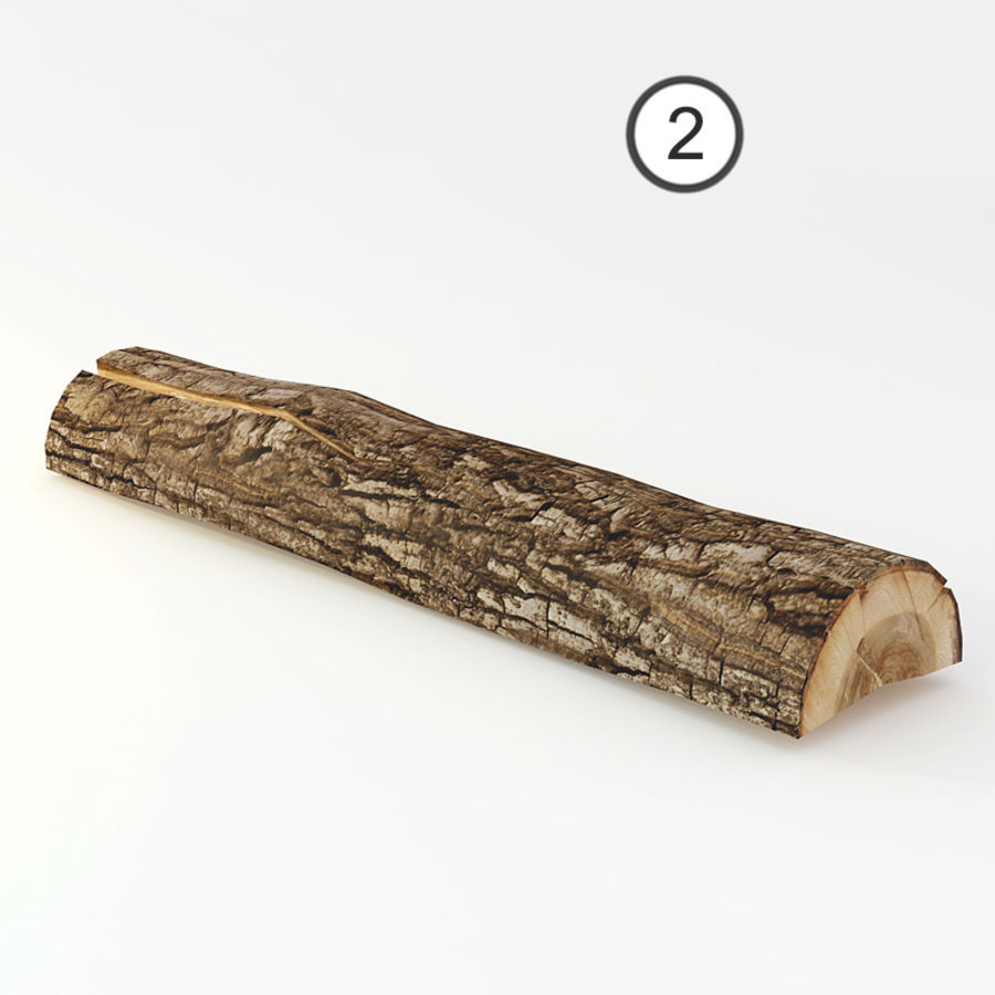 logs royalty-free 3d model - Preview no. 7