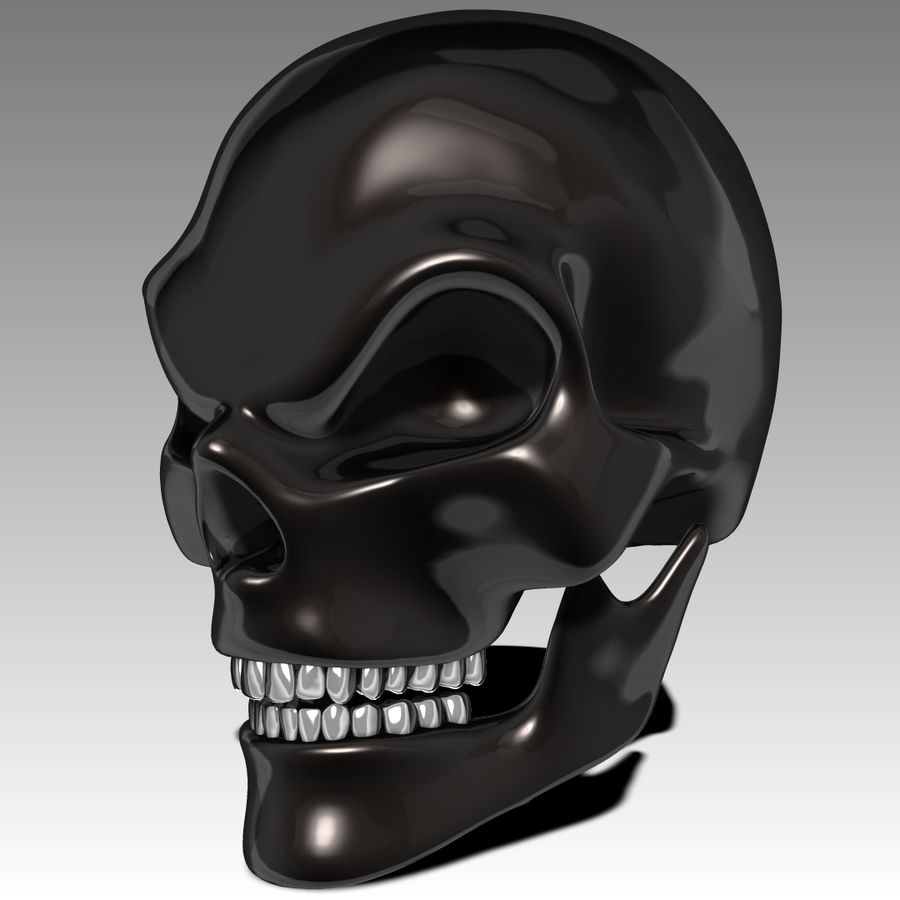 Schädel royalty-free 3d model - Preview no. 1