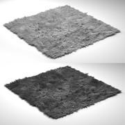 现代地毯 3d model