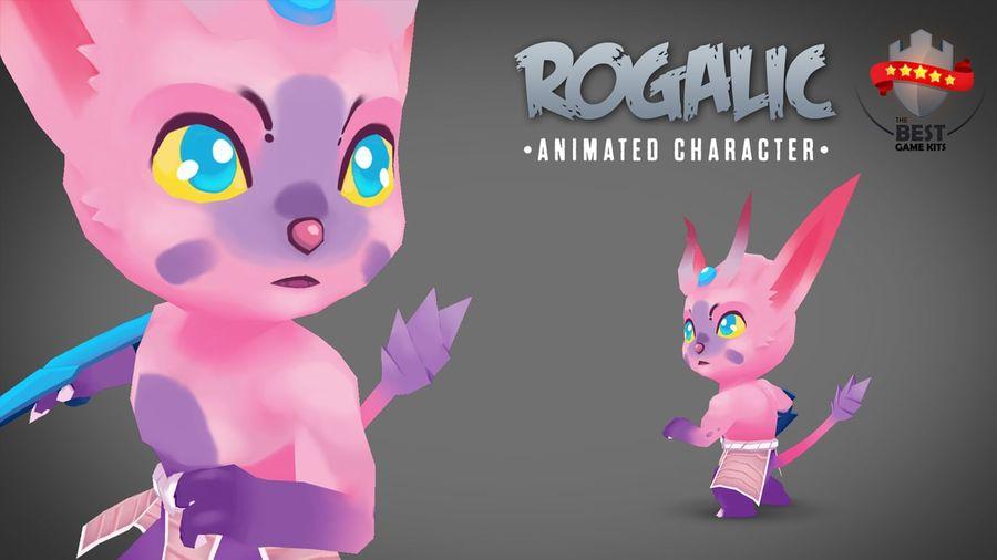 Personagem de animação 2 royalty-free 3d model - Preview no. 1